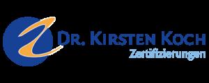 Zertifizierung Dr. Kirsten Koch